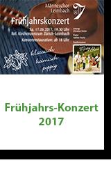 Männerchor Leimbach Frühjarskonzert 2017